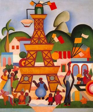 carnaval em madureira tarsila do amaral 1924